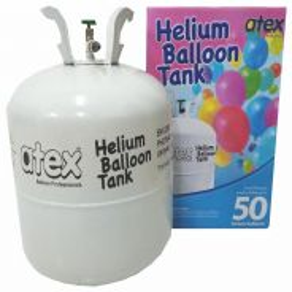 Helium gas tank - fills up to 50 pcs regular belon