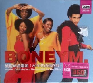 IMPORTED CD BoneyM 80' Rock Greatest Hits 2CD