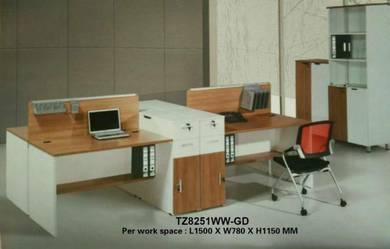 Office Furniture / Simple Workstation #TZ8251WW-GD