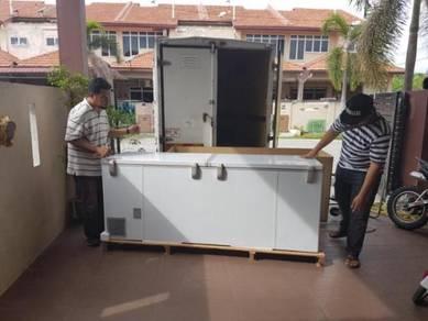 Solid Door (double door) - freezer 750 litre BARU