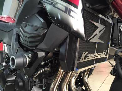 Radiator Cover Coolant Guard Kawasaki Z800