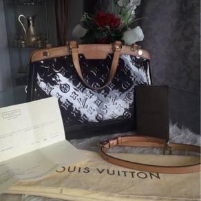 ORI LV handbag Brea MM Amarantee