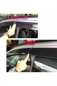 Perodua aruz TRD air press injection door visor