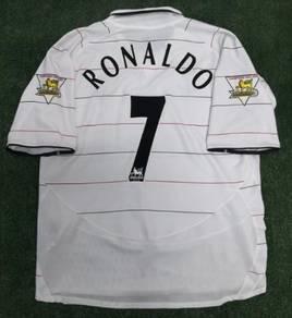 Original CR7 Manchester United jersey jersi Man Ut