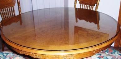 ALAS KACA UNTUK MEJA l glass table top