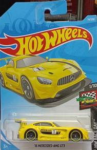 Hotwheels car 16 Mercedes AMG GT3