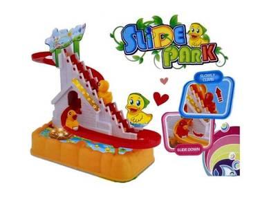 Ducks Race Track Series & Happy Little Duck