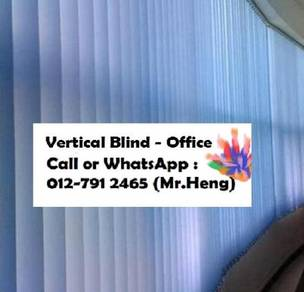Window Covering with Vertical Blind  98AU