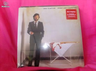 Eric clapton money & cigarettes lp