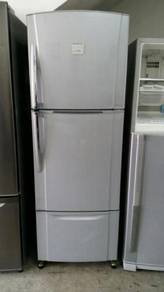 3 Doors Fridge Peti Sejuk Ice Toshiba Refrigerator