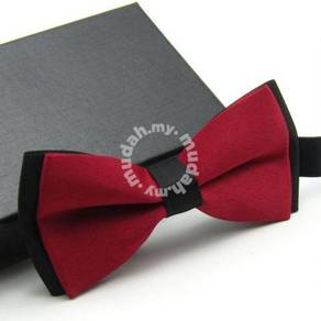 Double Layered Men Bow Tie