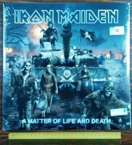 VINYL IRON MAIDEN A Matter of Life And Death LP