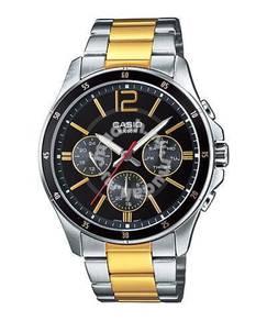 Watch- Casio MULTIHANDS MTP1374SG-1 -ORIGINAL