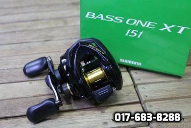 17' SHIMANO BASS ONE XT 151 Fishing Casting Reel