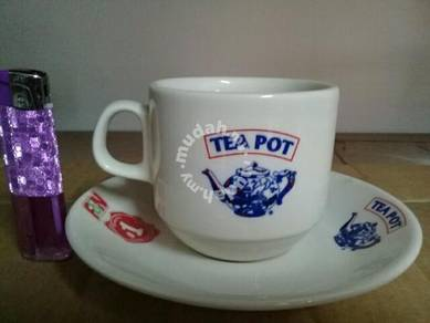 119 Cawan kopitiam Teapot FN fraser and neave