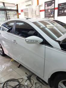 3M autofilm crystalline windows tinted car