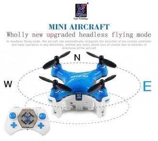 Super power Dron Mini 2.4G 4CH Pocket Drone 3