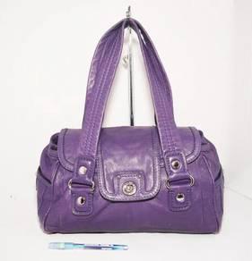 Authentic MARC BY MARC JACOBS purple handbag kueii