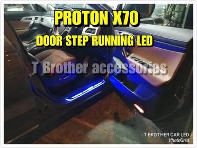 Proton x70 door step running led