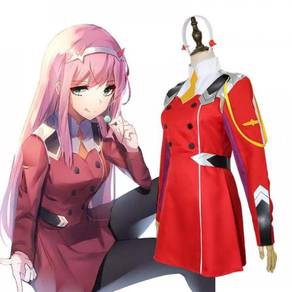 Darling in the franxx 002 Zero Two cosplay costume
