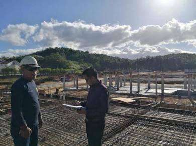 Projek Terkini Rumah Teres 2 Tingkat Bandar Utama Batang Kali