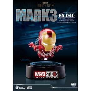 Magnetic Floating Iron Man: Mark 3 (Metallic)