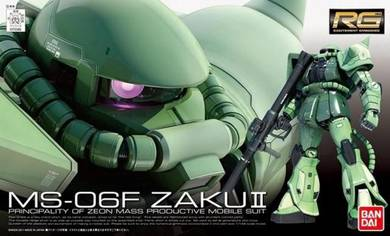 Bandai RG 1/144 Gundam MS-06F Zaku II