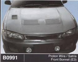 Proton wira satria front bonnet E3