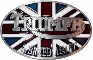 TRIUMPH Belt Buckle New bsa norton levis harley