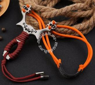 Steel Slingshot Outdoor I | Lastik Steel