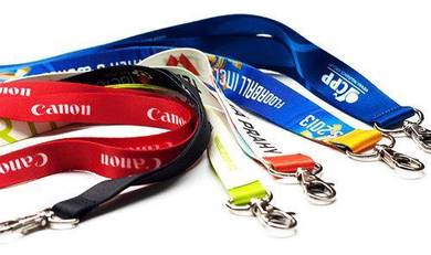Custom Full color sublimation polyester lanyard