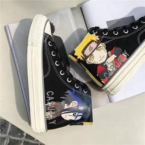 Naruto shippuden Kakashi Sasuke Canvas shoe