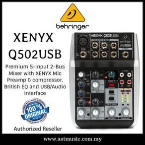 Behringer XENYX Q502USB MIXER AUDIO INTERFACE