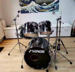 Sonor maple 3005 drum kit