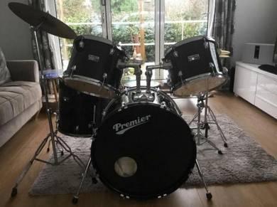 Premier Olympic 5 piece drum kit