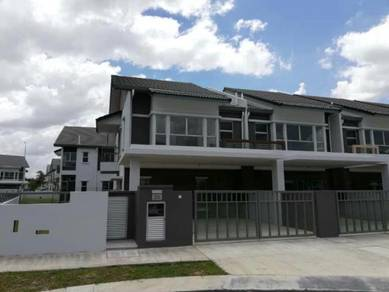END LOT BRAND NEW 2 Storey House Serene Heights Bangi