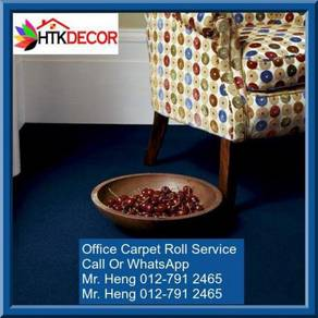 Classic Plain Design Carpet Roll with Install IE20