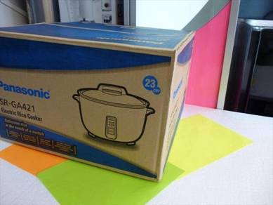 New Panasonic 4.2L Rice Cooker SR-GA421