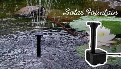 Garden Deco Fountain Water Sprayer Solar