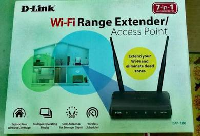 DLink DAP-1360 Wireless WIFI Range Extender