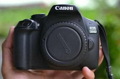 Camera canon1300d