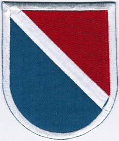 11th Special Forces Group United States Army Patch