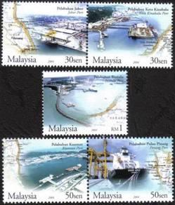 2004 Main Ports Of Malaysia Stamp UM S