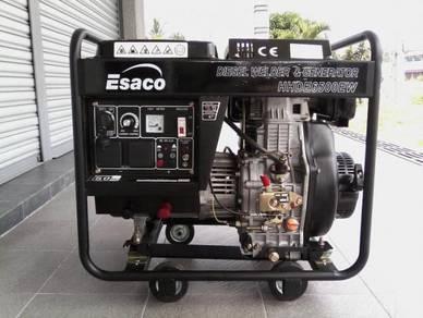 ESACO HHDE 6500EW Diesel Generator & Welding