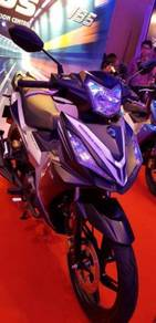 SYM VF3i 185 Fuel Injection Limited Matt Black