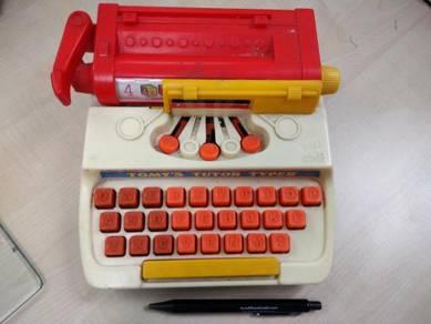 Vintage tomy rare type writer 1977 japan