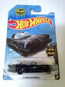 Hot Wheels 2018 - TV SERIES BATMOBILE (RECOLOR)