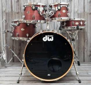 DW Working Perfectly Drum Kit