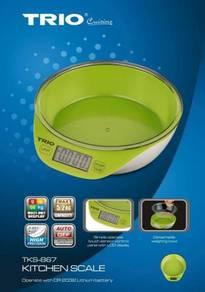 TRIO TKS-867 Digital Kitchen Scale Capacity 5.2kg
