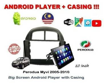 Perodua Myvi ANNDROID Player 05-2010 2+16G 10 NCH